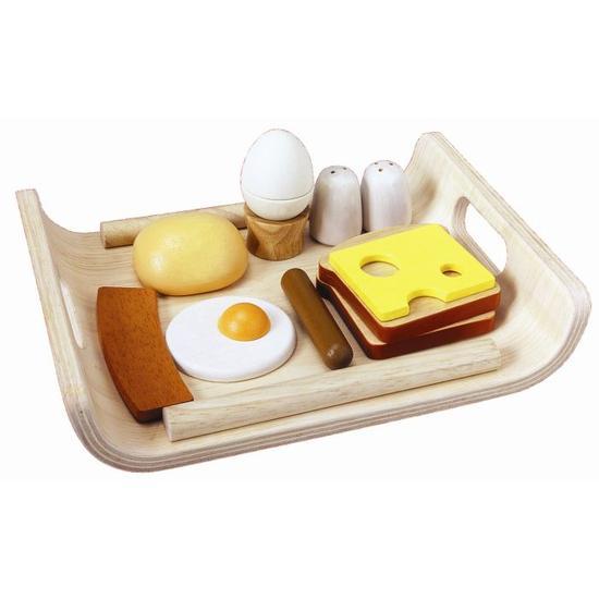 plateau petit déjeuner