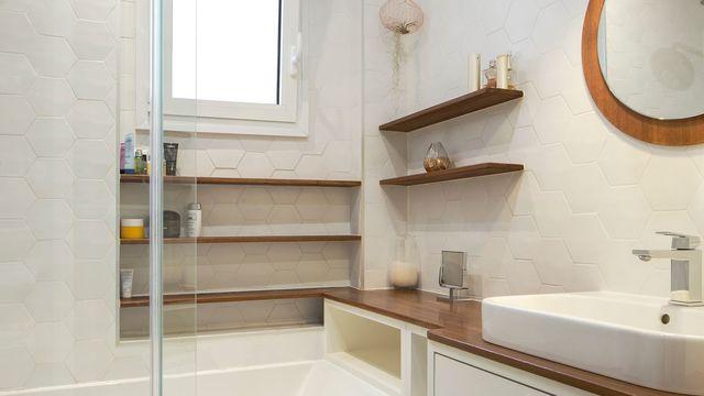 salle de bain rangement