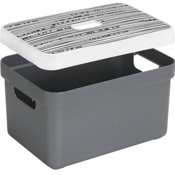 boite rangement avec couvercle