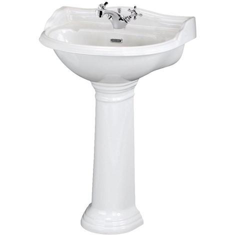 lavabo sur pied