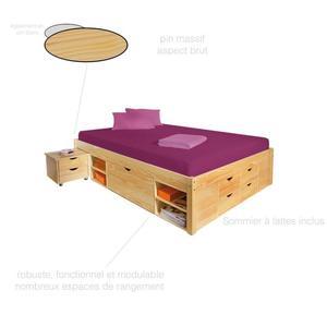 tiroir rangement lit